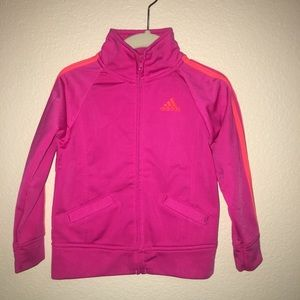 Girl's 2 pc. Adidas - 24 mo. Pink Athletic Suit
